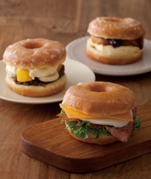 ルサンパーム、東京駅限定「ドーナツサンドイッチ」を発売   ニュース - ファッションプレス