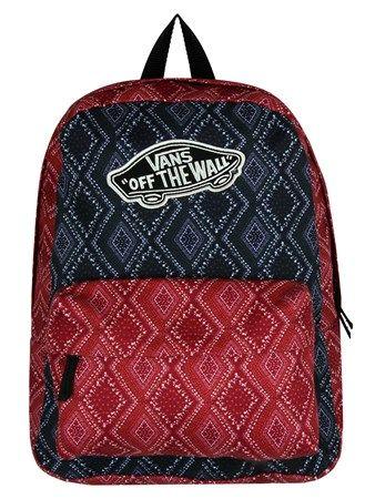 Chili Pepper Bandana Vans Realm Backpack | UK Store | Oneposter.com