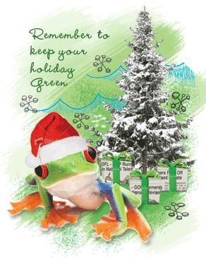 Don't be a Grinch, but Go Green on the Holidays! http://www.earthrangers.com/wildwire/this-just-in/dont-be-a-grinch-but-go-green-on-the-holidays/