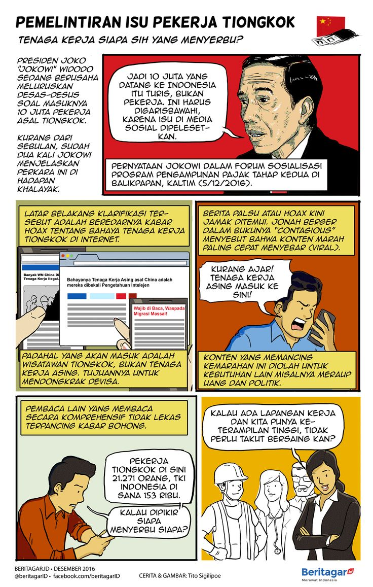 Kabar bengkok ihwal pekerja Tiongkok - Merawat Indonesia