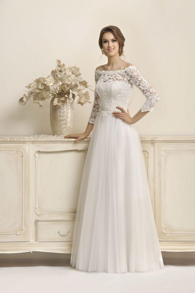 176480d883 17036 - Agnes Bridal Dream 2018 - Kolekcja sukni ślubnych Agnes - koronkowe  suknie ślubne