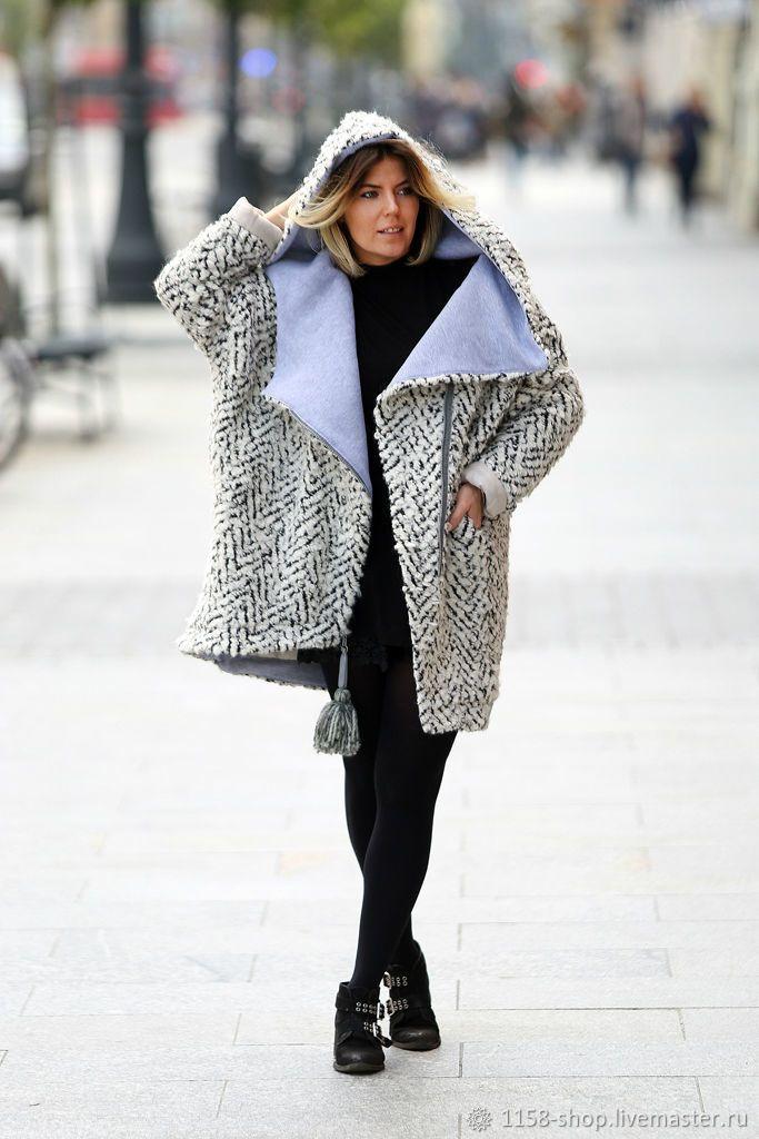 c17ddfabaee Верхняя одежда ручной работы. Ярмарка Мастеров - ручная работа. Купить  Зимнее пальто с капюшоном