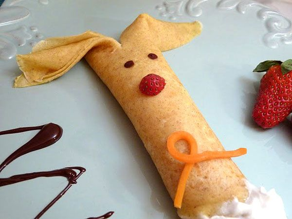 Easter breakfast crepe
