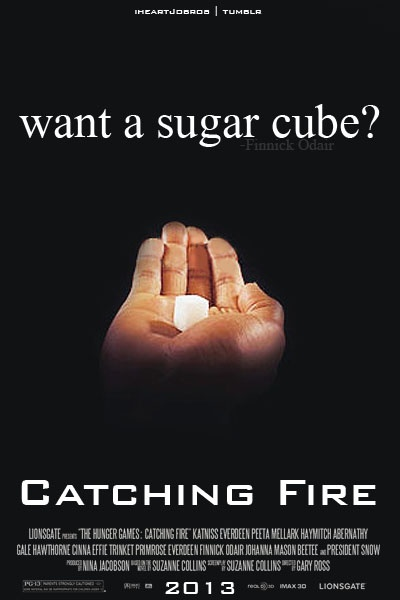Finnick And Katniss Want A Sugar Cube