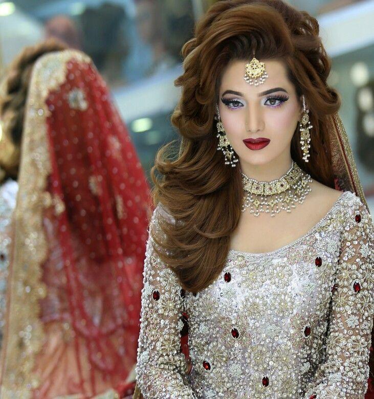 Asian Hair Style Wedding: Bridal Makeup N Hairstyling By Kashif Aslam At Kashee's