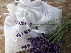 Lavendelbloemen drogen