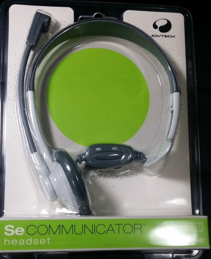 XBOX 360 HEADSET - JoyTech Communicator clear voice Communication FREE Postage