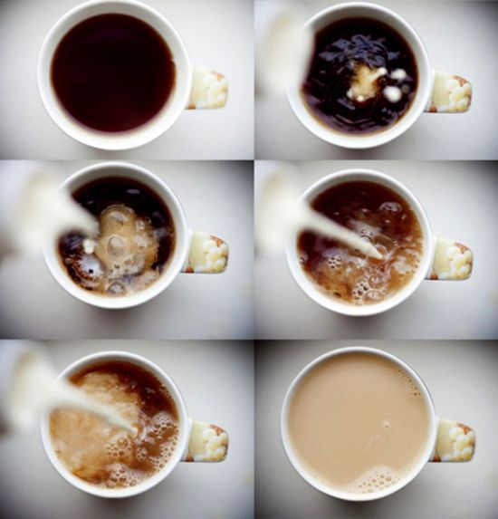 I like the concept - you can show the stages of coffee making -