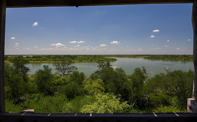 Salty lagoons in the paraguayan chaco. You can see more here: http://www.yluux.com/2012/02/27/lagunas-saladas-del-chaco/
