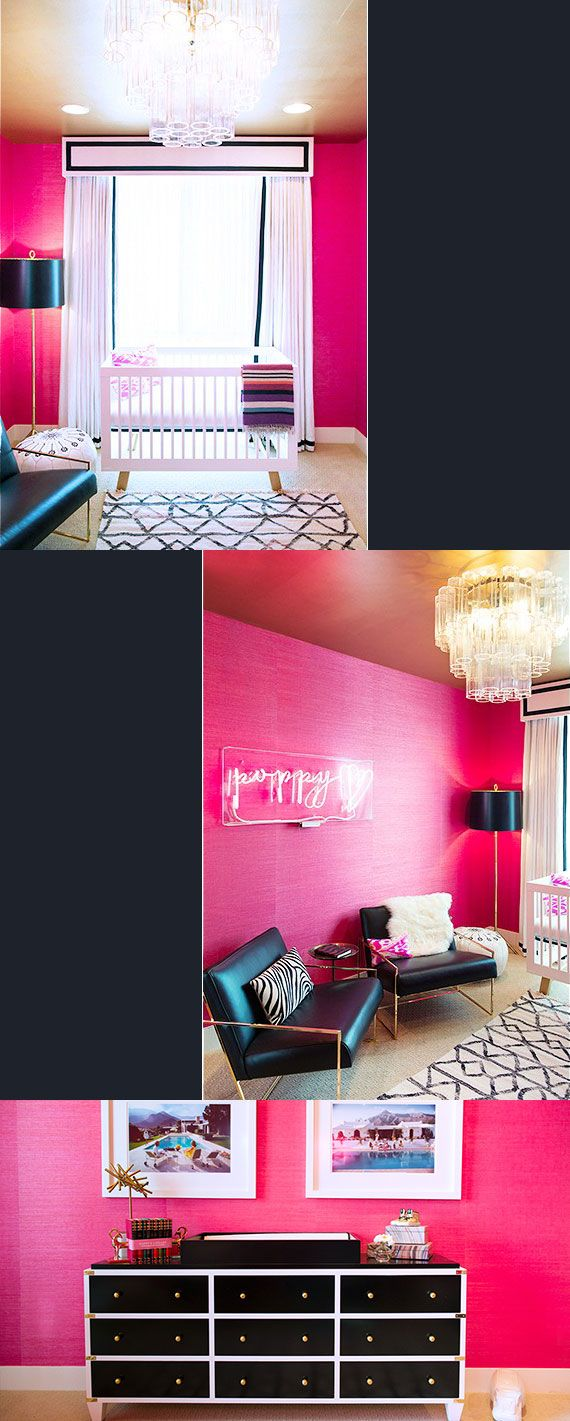 Hot Pink Room 735 best pink baby rooms images on pinterest | babies nursery