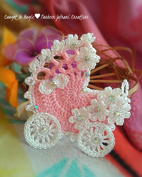 Baby carriage fridge magnet ♥♥