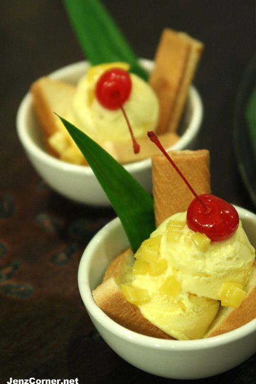 Es Puter (Indonesian Ice Cream)  is created by using coconut milk as the substitude for milk and using tropical fruit instead of berries.