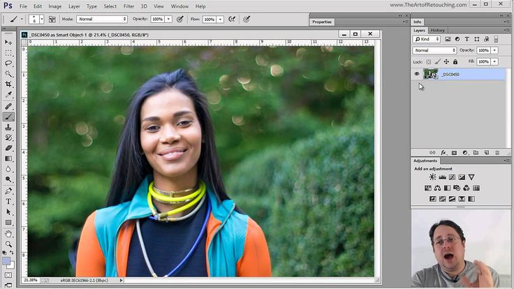 how to make raw files cleaner in photoshop