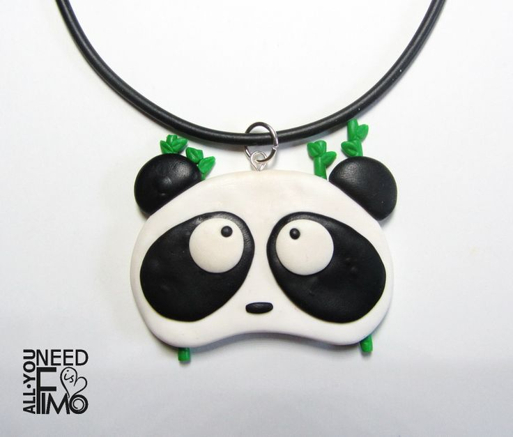 Caucciu necklace with fimo panda charm, now in my Etsy and AlittleMarket shop! - AlittleMarket: https://www.alittlemarket.it/collane/it_ciondolo_panda_gioielli_panda_collana_panda_gioielli_animali_ciondolo_animali_collana_animali_ciondolo_fimo_panda_fimo_bambu_fimo_-20280693.html \/ #fimo #polymerclay #artigianato #fattoamano #handmade #collana #necklace #ciondolo #pendant #charm #caucciù #panda #animali #animals #bamboo #animalslover #pandalover #pandas #etsy #epiconetsy…
