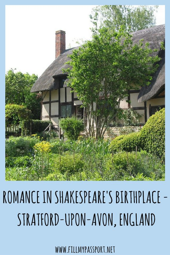Romance in Shakespeare's Birthplace
