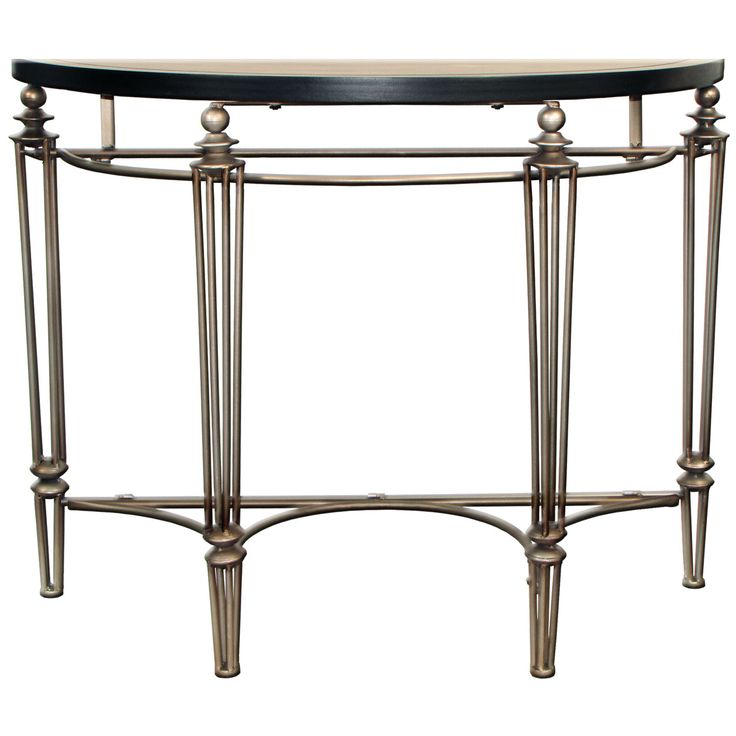 """Athos"" Metal Art Hall Table"