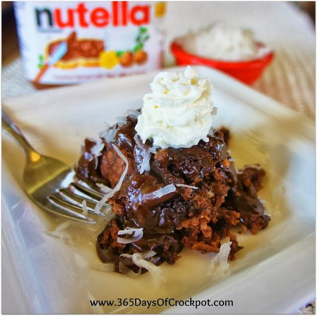 Slow Cooker Chocolate And Nutella Bread Pudding Recipes — Dishmaps