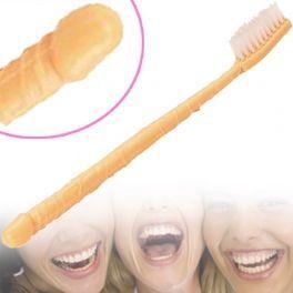 Escova de Dentes em Forma de Pénis