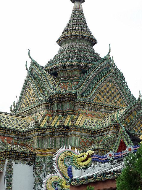 Beautiful temples of Wat Arun in Bangkok, Thailand