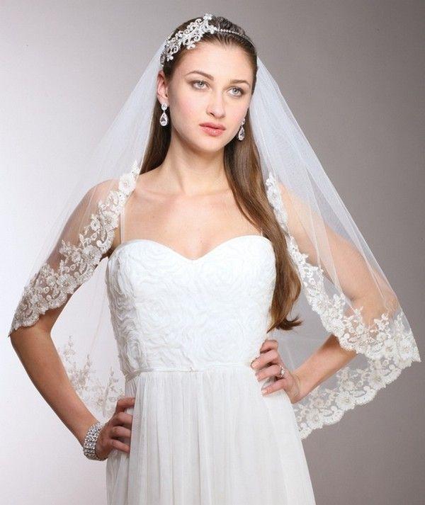 Long and Fluffy Bridal Veil-0