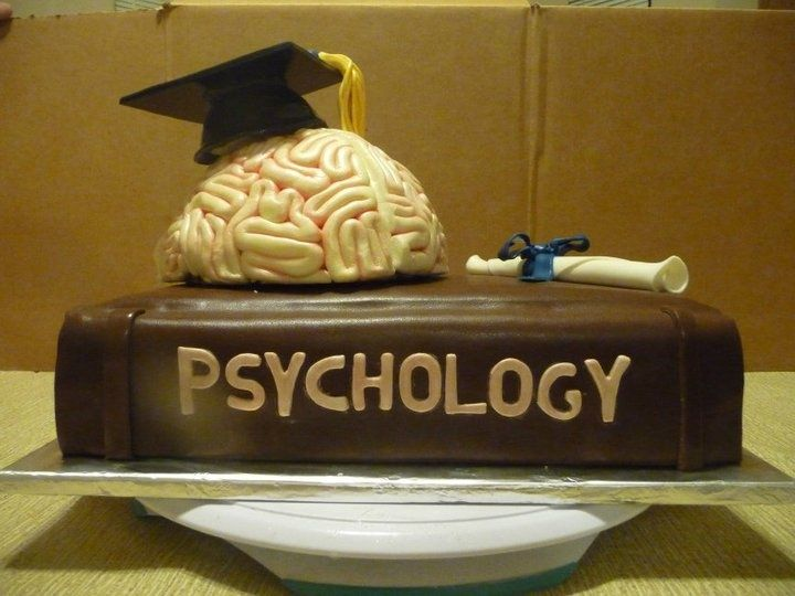 Psychology Graduate Cake Psychology Graduation Cake