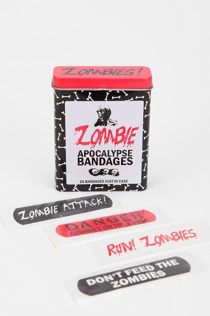 Wa walking dead pumpkin stencil - Zombie Bandages
