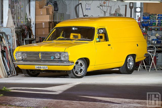 Don Mills' 1967 Holden HR Panel Van - 1 by HoskingIndustries, via Flickr