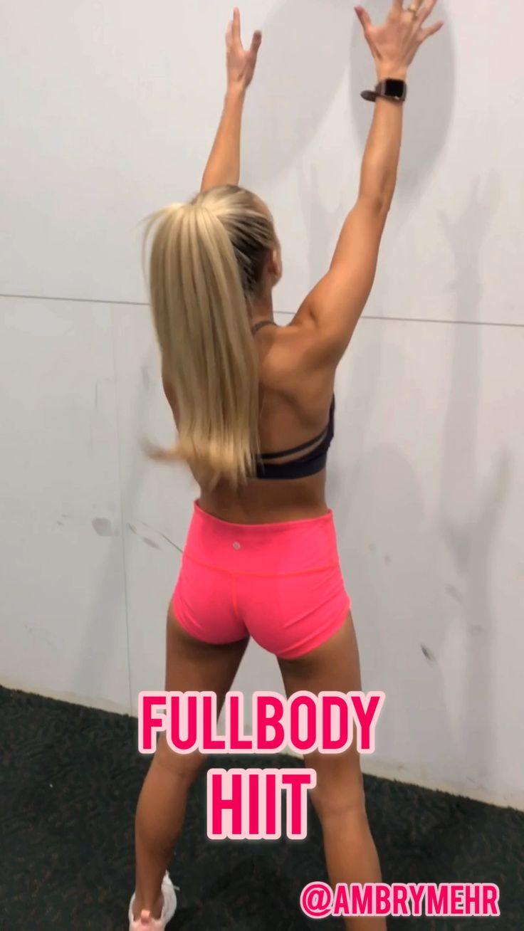 Bodyweight HIIT Workout- Follow @ambrymehr IG for free workouts! – gym