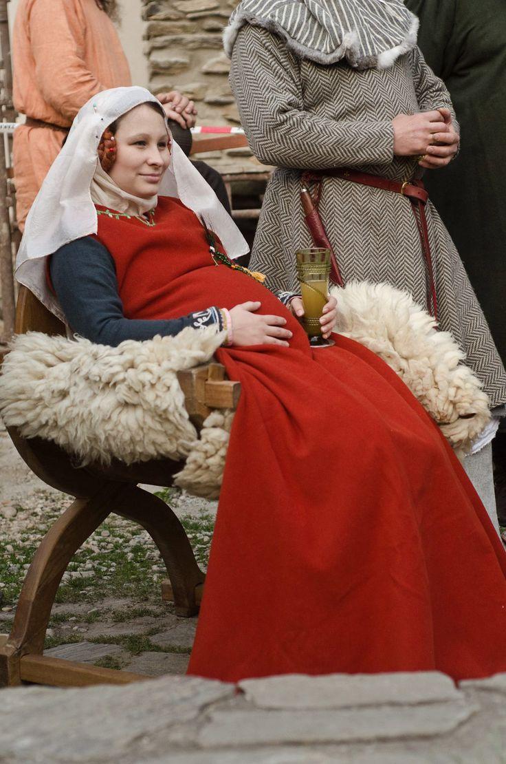 top dress - surcotte wool