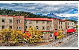 Athabasca Hotel - Jasper, Alberta Accommodations at the Atha B hotel