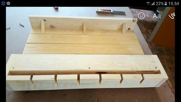 Vinreol, wine rack, wine, shelf, ByNielsen, wood, carpentry