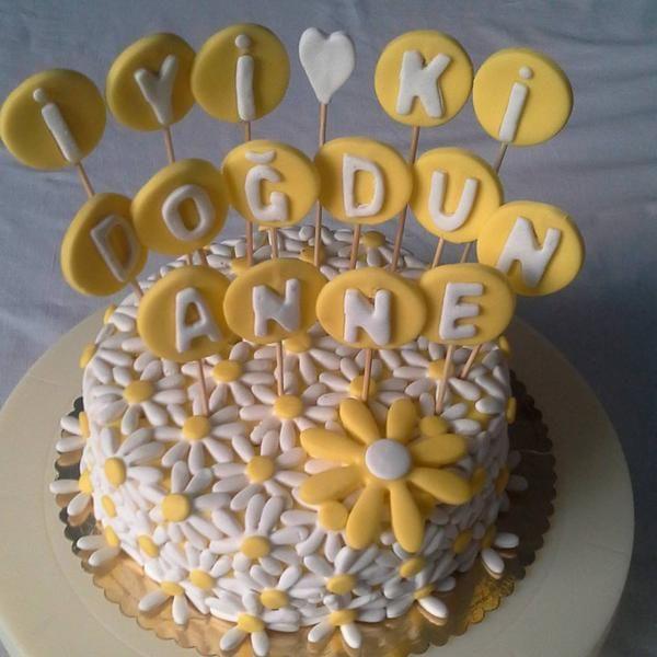 Özel Tasarım Doğum Günü Pastası. www.pastacibaci.com
