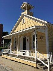 Visiting The Old Sacramento Schoolhouse Museum in Sacramento, California