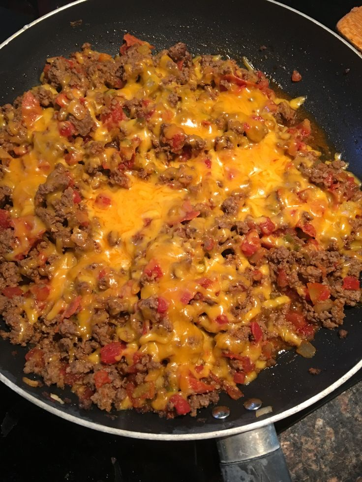 Bacon Cheeseburger Skillet - 21 Day Fix Approved