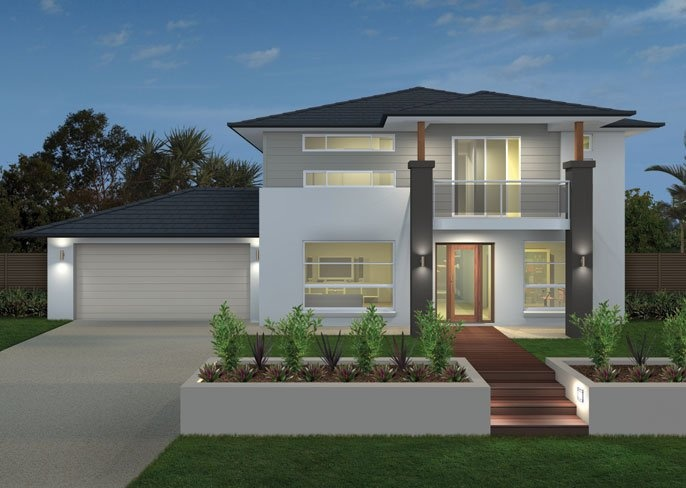 Ausbuild Home Designs: Arabella Island Facade. Visit www.localbuilders.com.au/builders_queensland.htm to find your ideal home design in Queensland