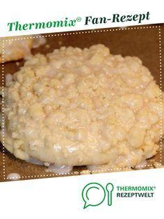 Streuseltaler / Streuselteilchen / Streuselschnecke wie vom Bäcker – Thermomix