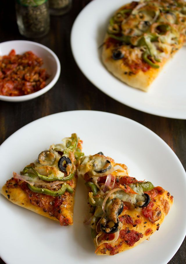 vegetable pizza recipe from scratch. this is a tried & tested veg pizza recipe with step by step photos.