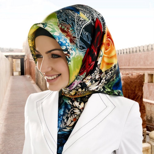 Husna silk hijab