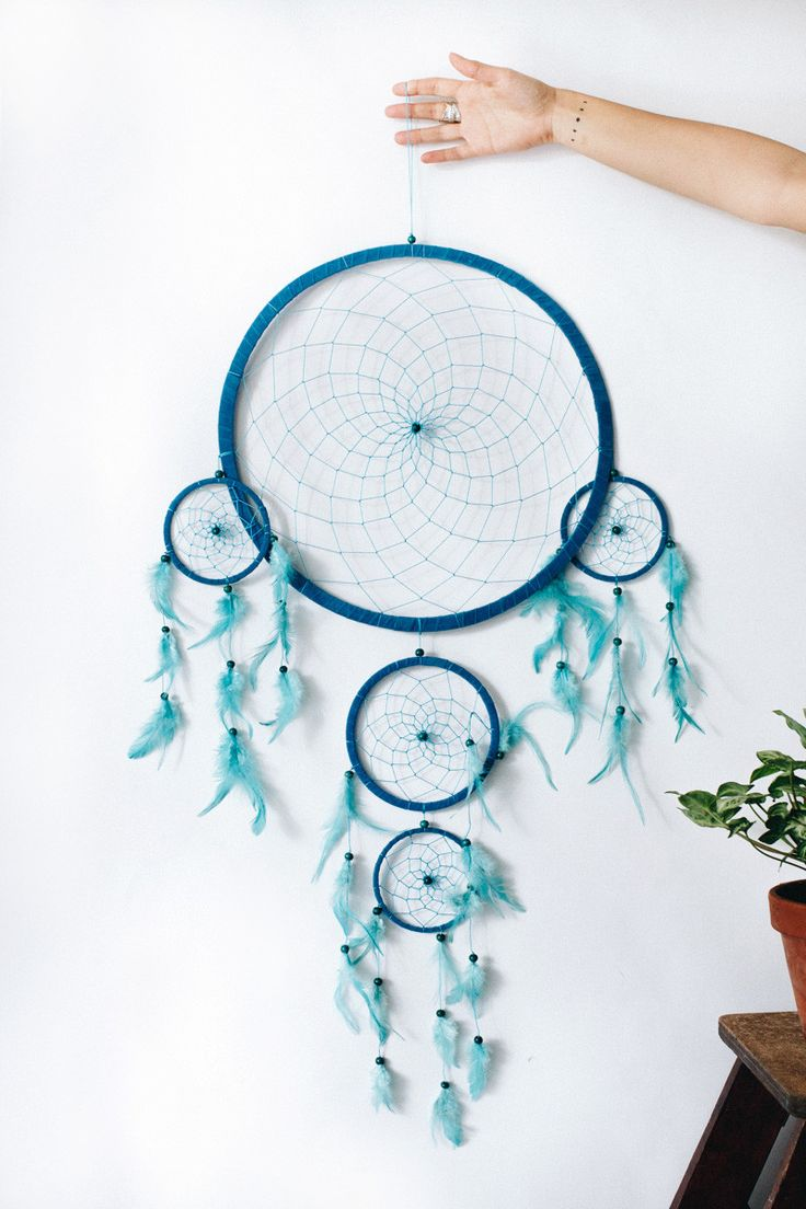 Blue Skies Dreamcatcher