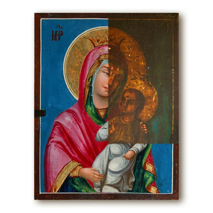 Byzantine Icon from Greece