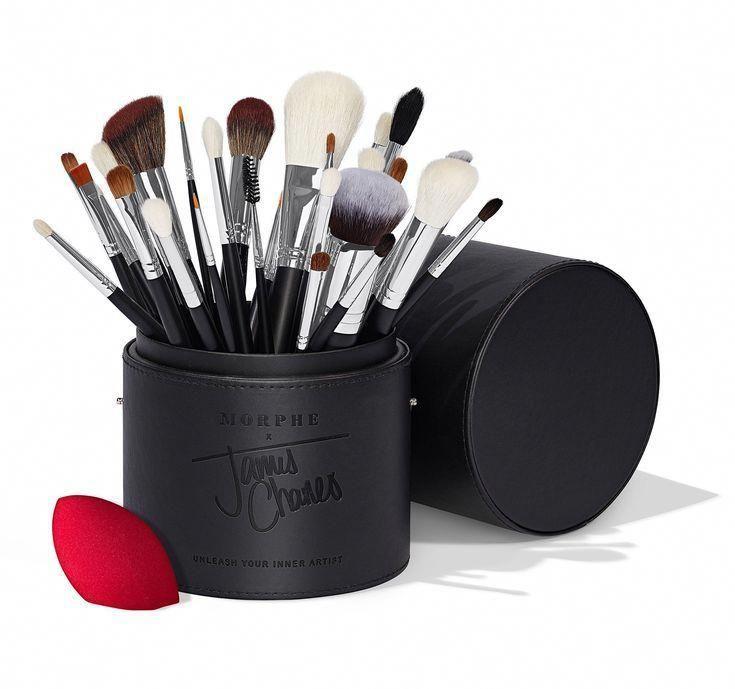 The James Charles Brush Set In 2020 Morphe Brushes Set James Charles Makeup Brush Set