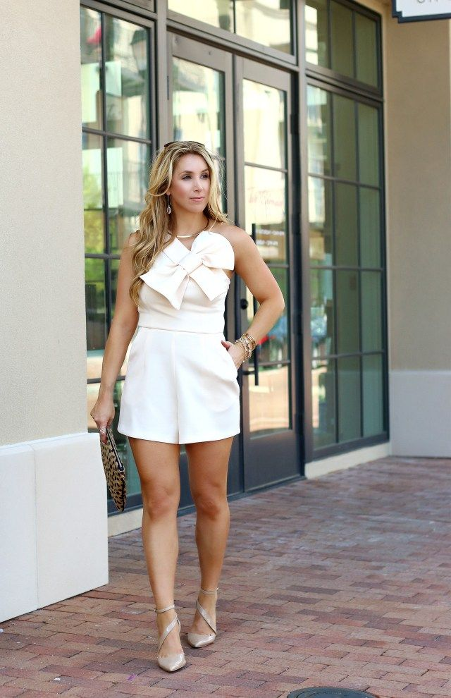 The Bow Romper