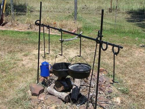 Campfire Cooking On The Range The Chuck Wagon Open
