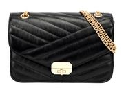 We love this black evening bag