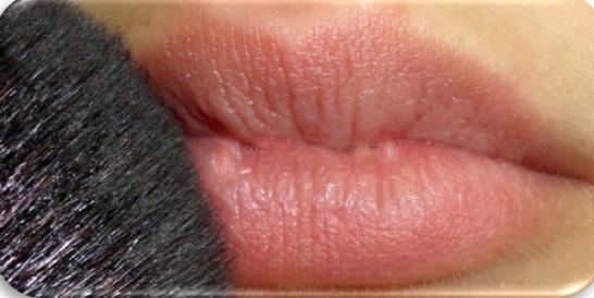 Labios sensuales todo el día: paso 2