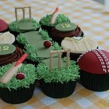 Image result for cricket cupcake