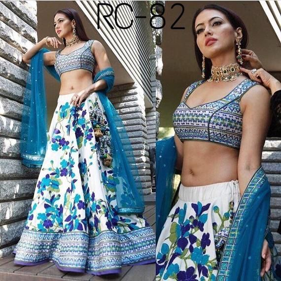 Indian salwar kameez lengha choli indian suit women party wear lehenga indian de…