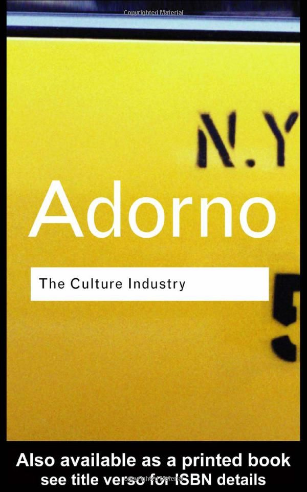 Amazon.com: The Culture Industry: Selected Essays on Mass Culture (Routledge Classics) (9780415253802): Theodor W. Adorno, J. M. Bernstein