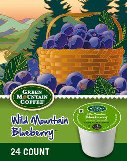 Green Mountain Wild Mountain Blueberry K-Cup Coffee Green Mountain Coffee http://www.amazon.com/dp/B00FYF4N9A/ref=cm_sw_r_pi_dp_8f1Ktb02FQPRRDT4