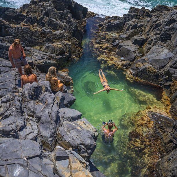 Noosa National Park, Noosa Heads, Australia - Laguna Beach at the...